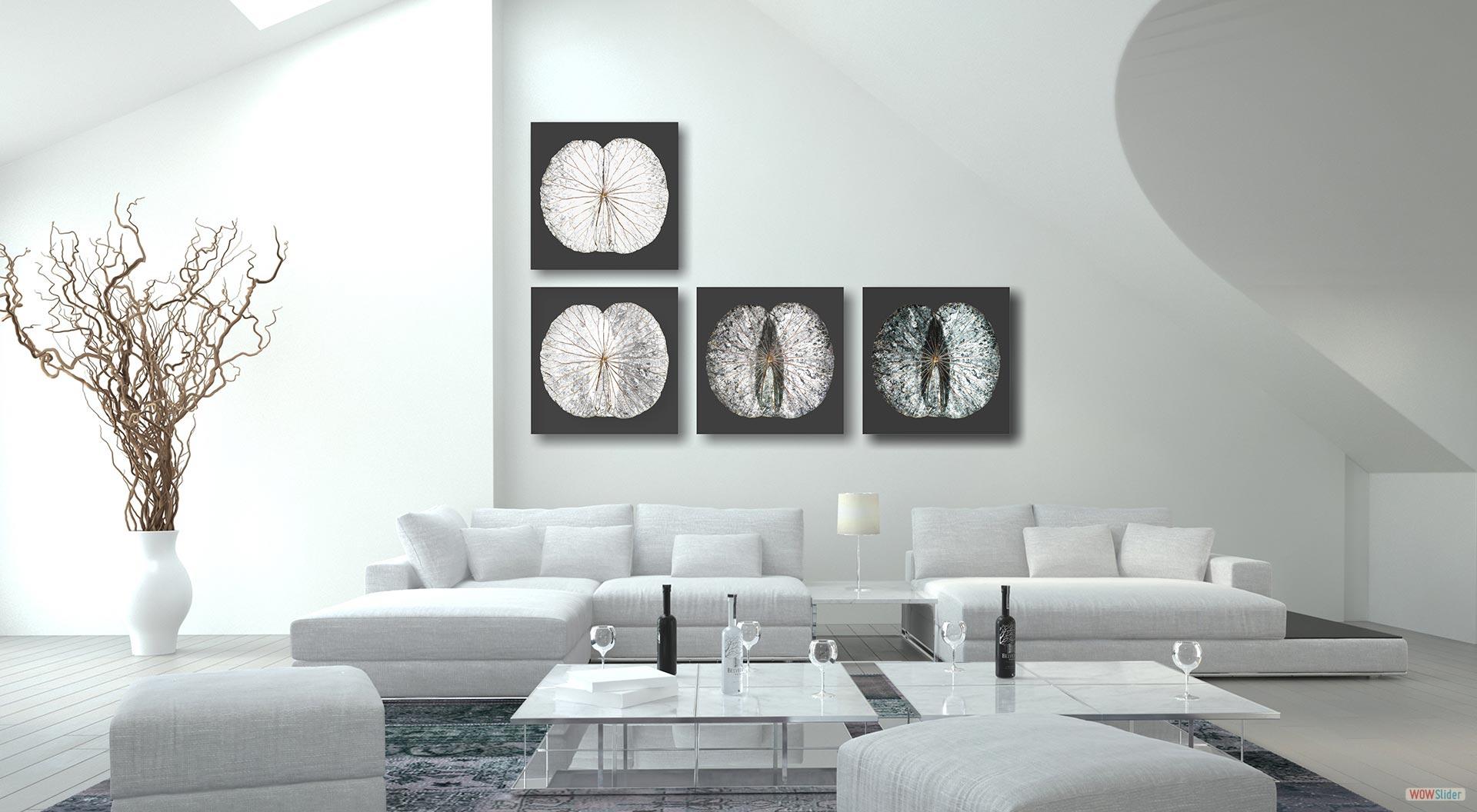 wandbilder von shermans lotus wall art bilder aus lotusbl ttern. Black Bedroom Furniture Sets. Home Design Ideas